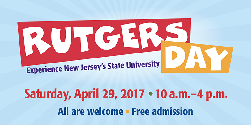Rutgers day banner