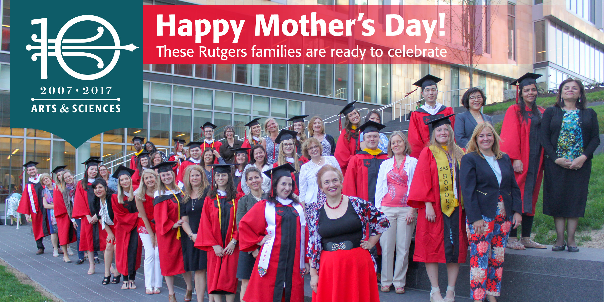 These Rutgers families are ready to celebrate!