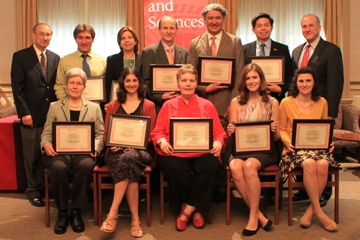 2013 Recipients of SAS Teaching Awards Announced