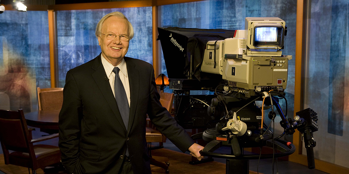 Bill Moyers,  Photo Credit: Robin Holland