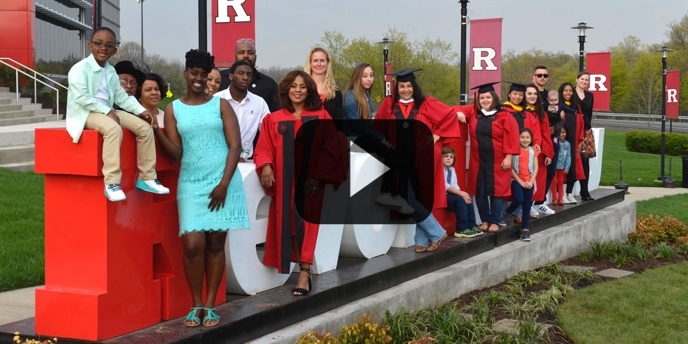 Moms Proudly Wear Cap and Gown as Long Journey to Rutgers Graduation ...