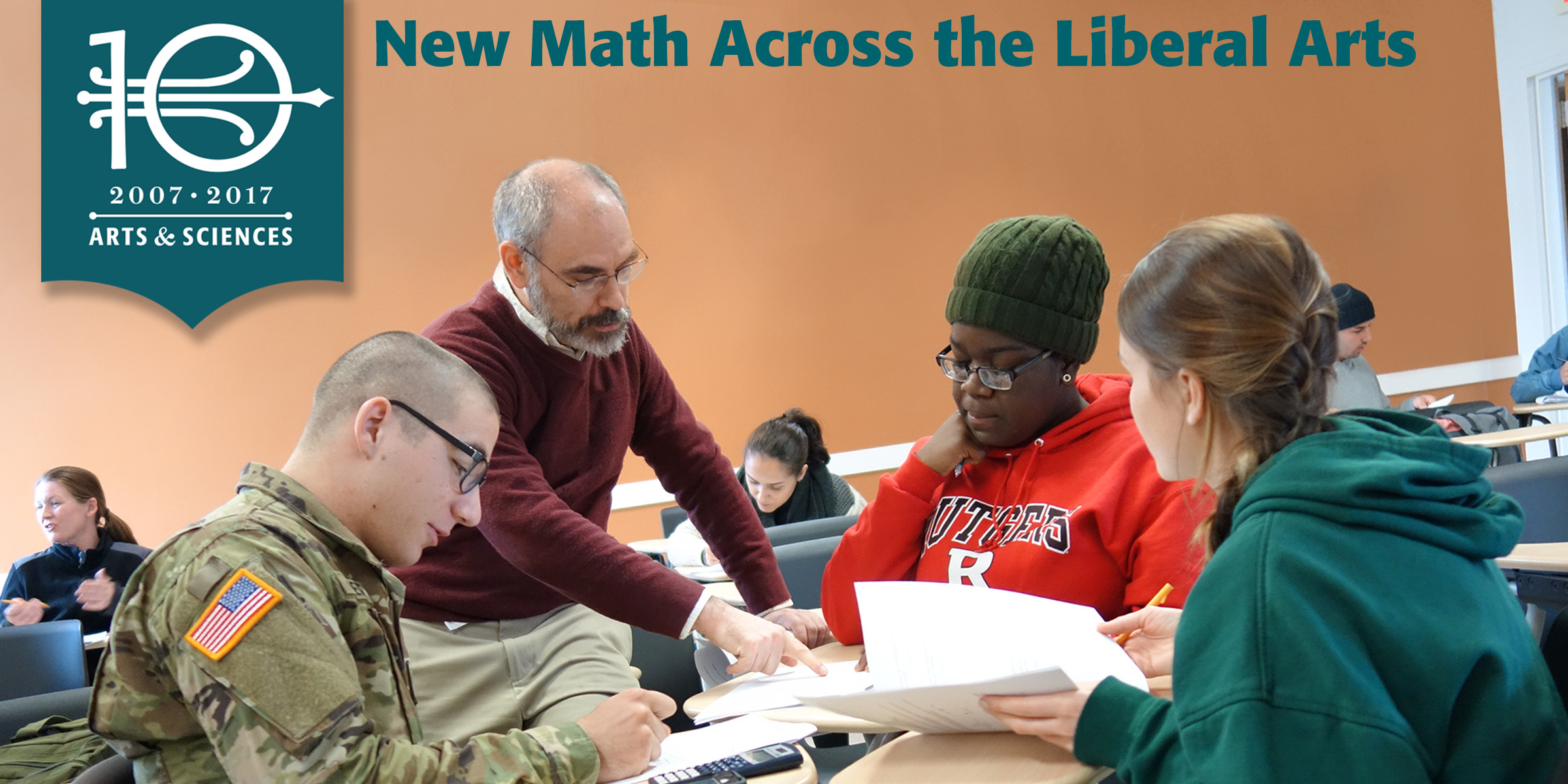 New Math Across the Liberal Arts
