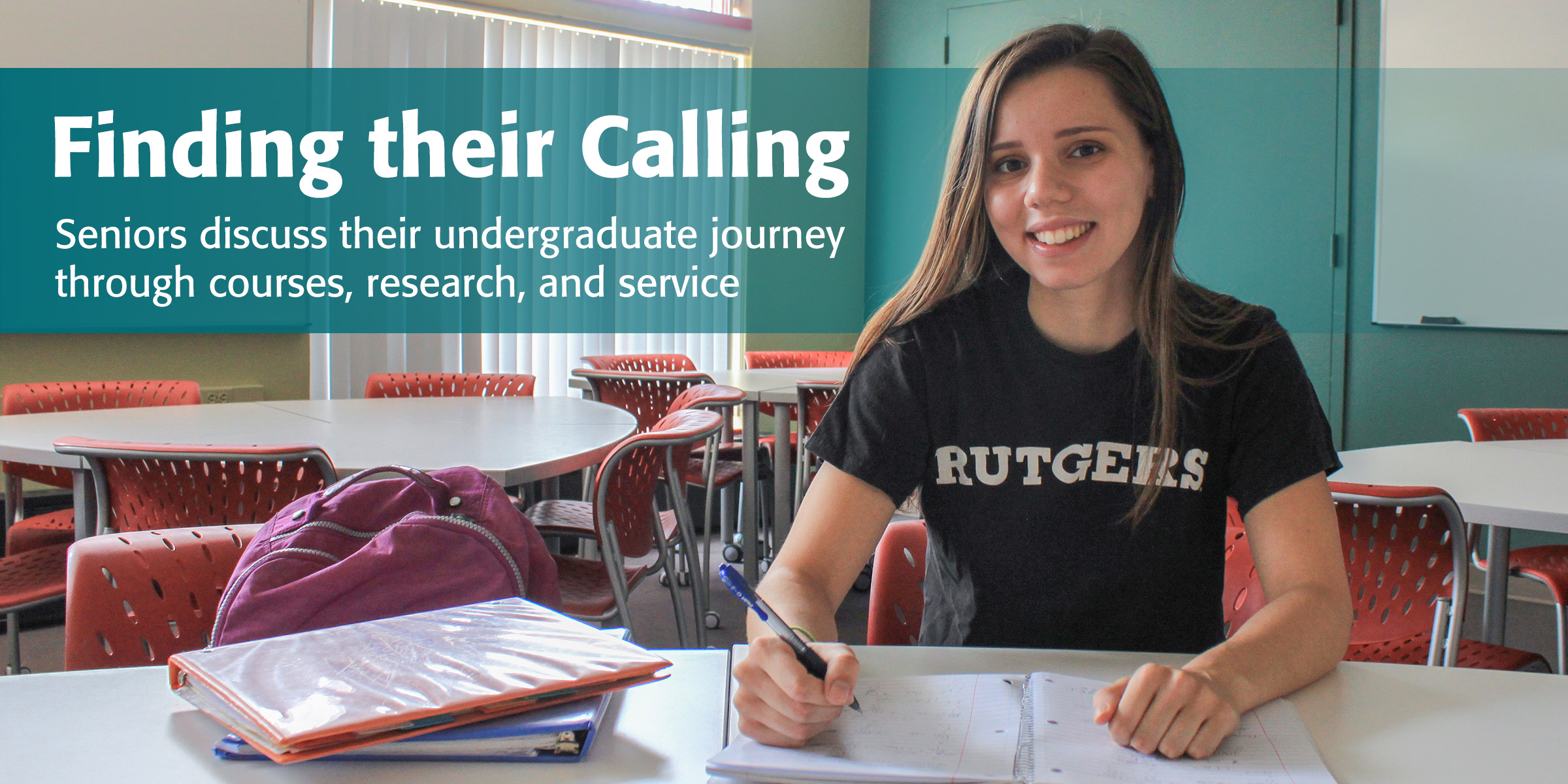 Finding their Calling: Seniors discuss their undergraduate journey through courses, research, and service