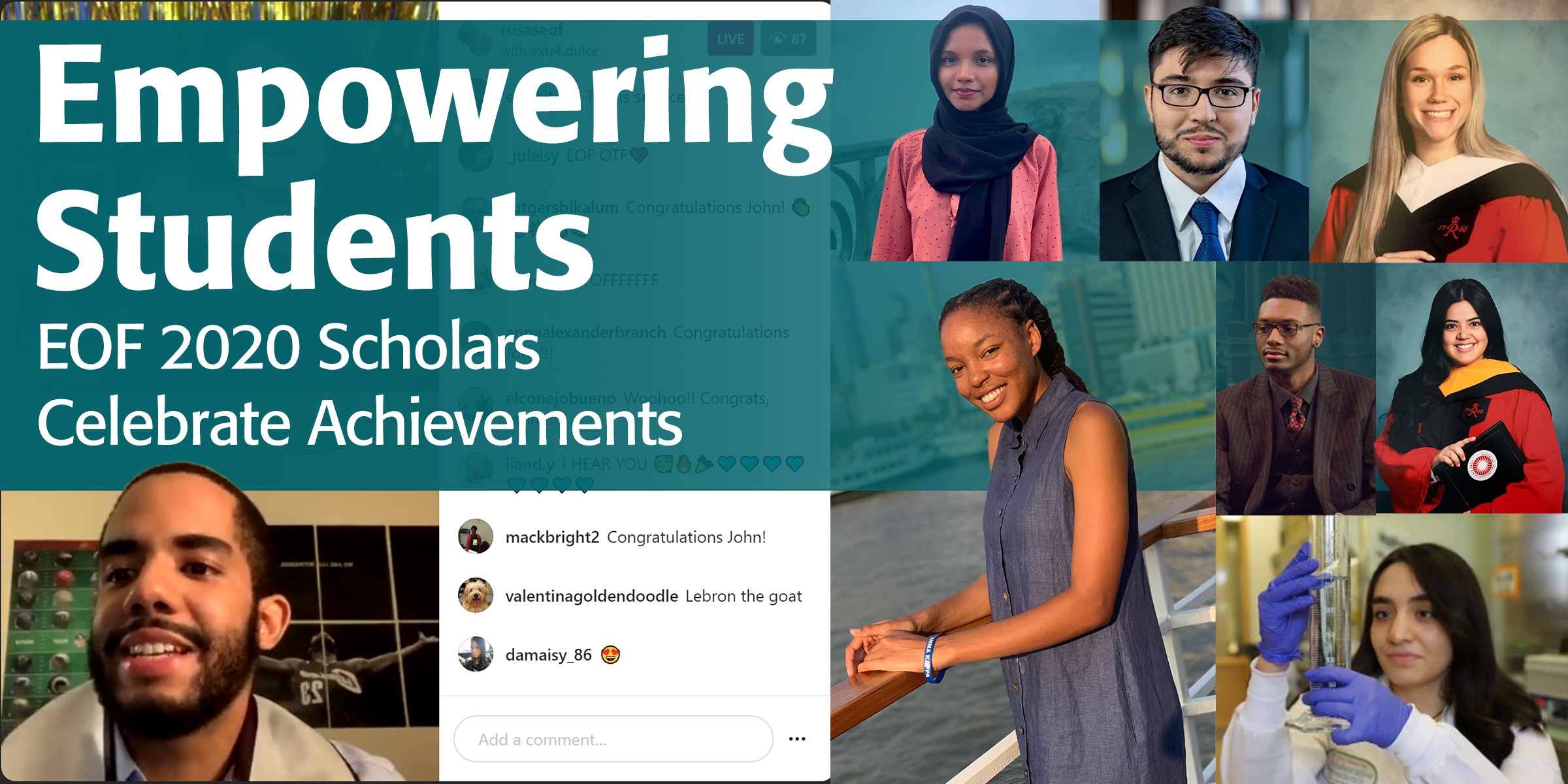 Empowering Students: EOF 2020 Scholars  Celebrate Achievements 1