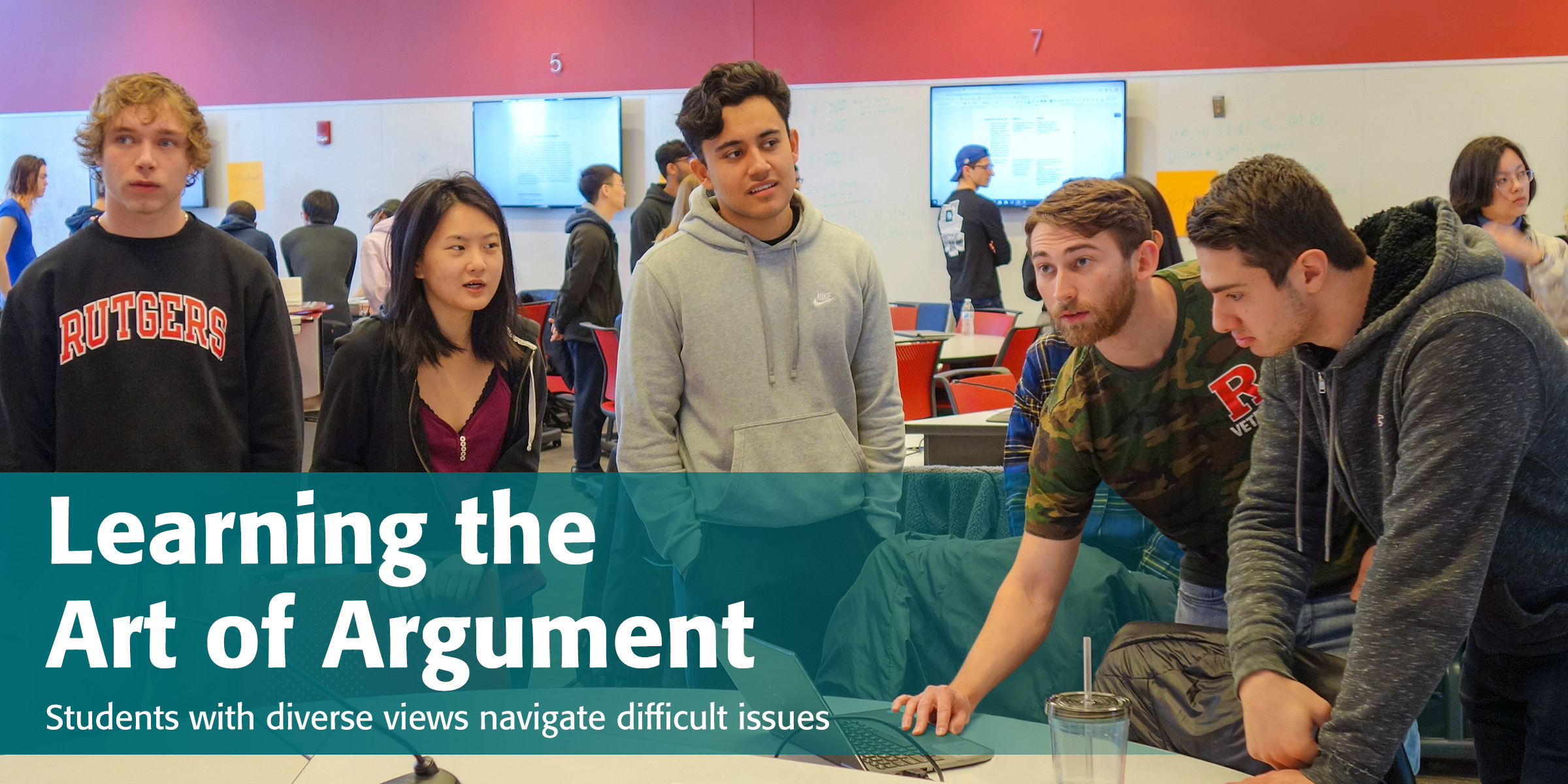 Learning the Art of Argument: Students with diverse views navigate difficult issues