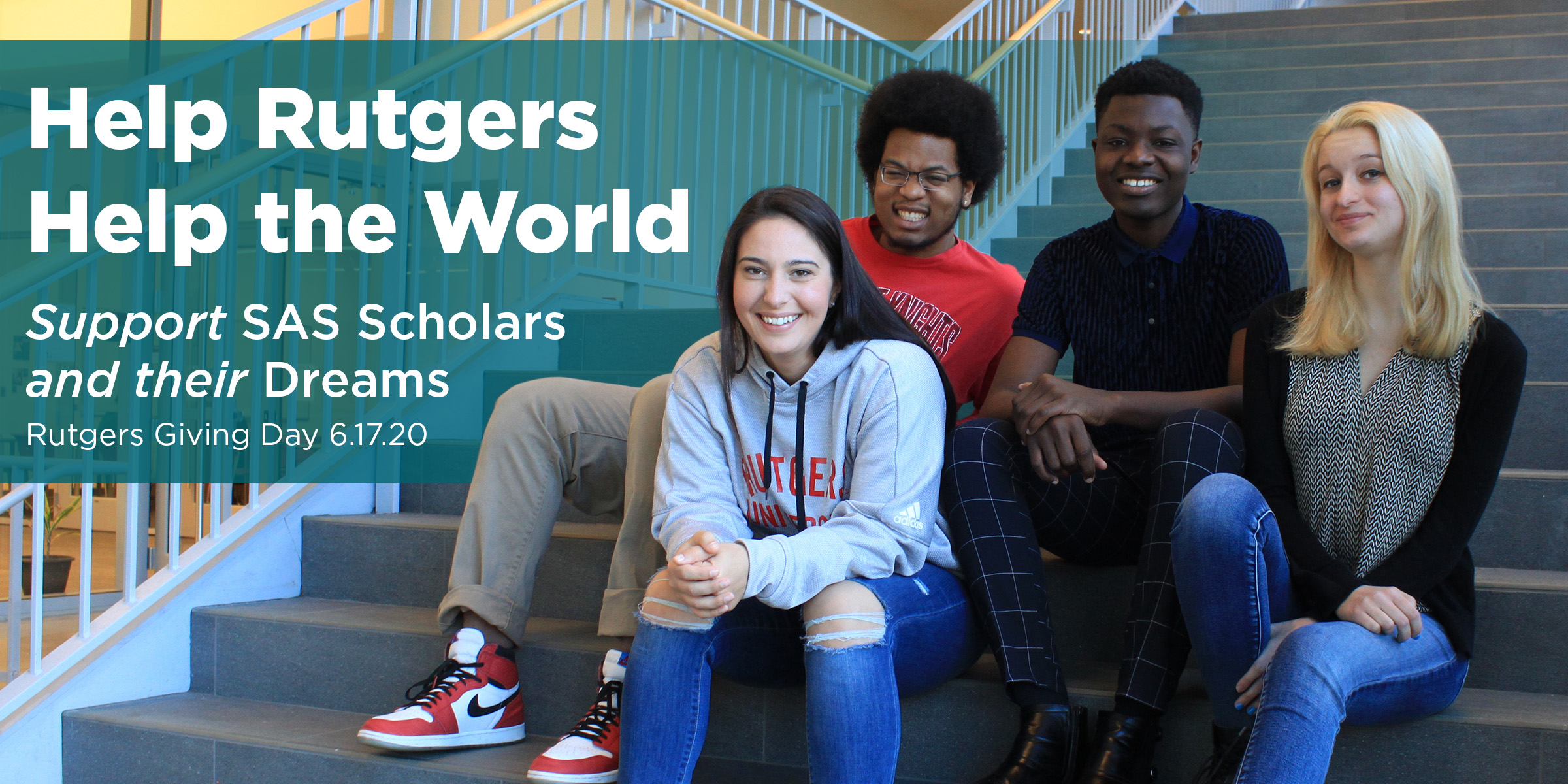 Rutgers Giving Day 2020: Help Rutgers Help the World
