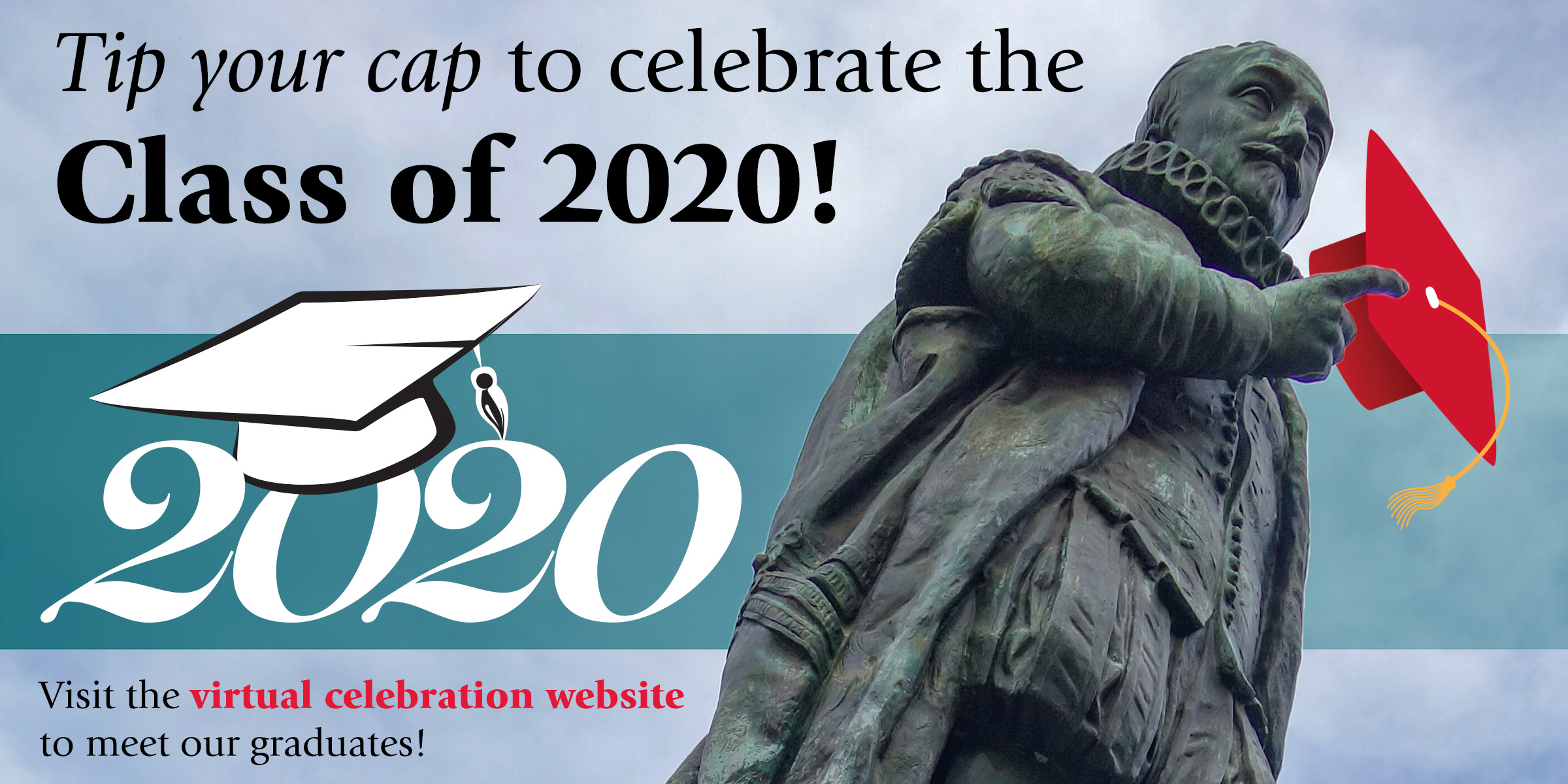 SAS 2020 Virtual Celebration: Tip your cap to celebrate the Class of 2020!