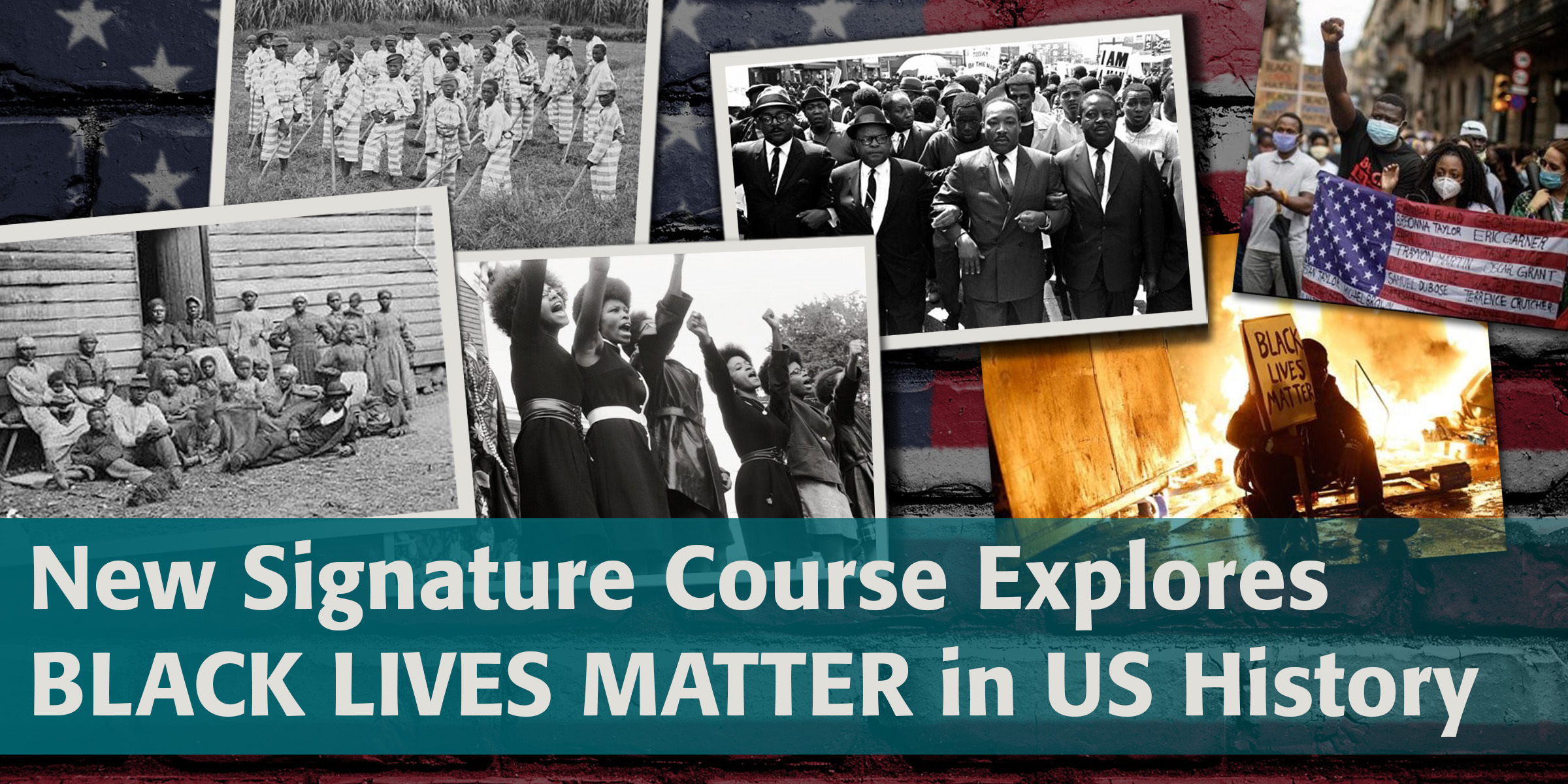New School of Arts and Sciences Black Lives Matter Signature Course