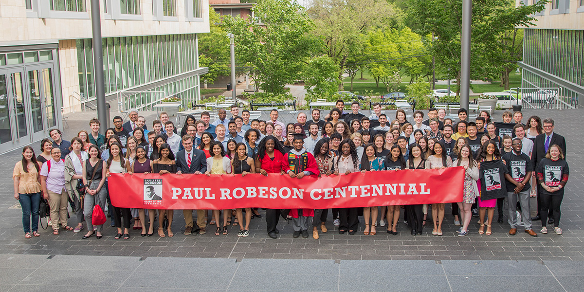 Paul Robeson Scholars group 1x2