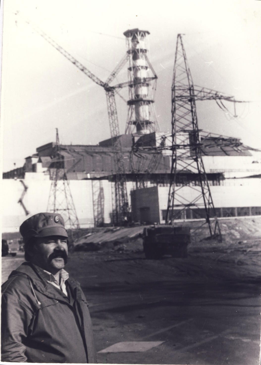 Anatolii in Chernobyl in the late 80s