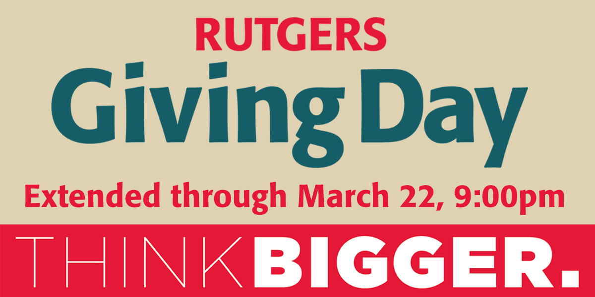 Rutgers Giving Day: Think Big