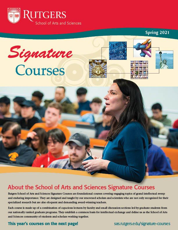 Spring 2021 Signature Courses Brochure cover